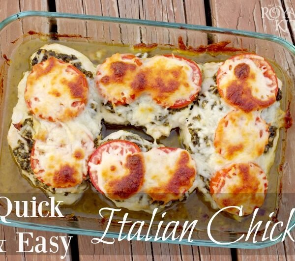 Quick And Easy Italian Chicken