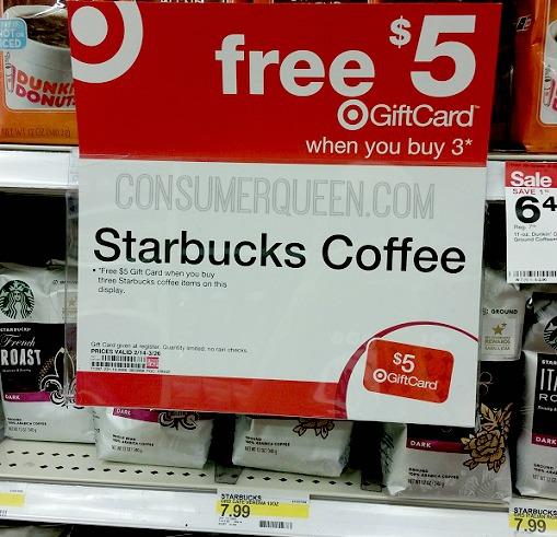 Save 40% on Starbucks Coffee at Target!