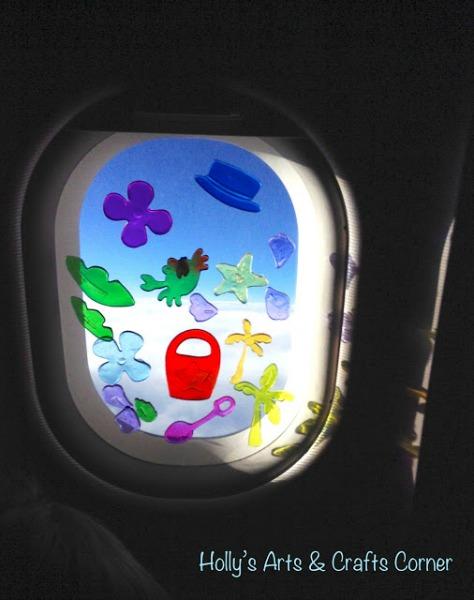 window gel clings