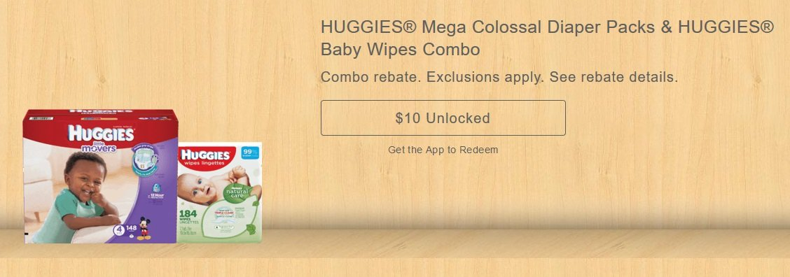 Huggies Mega Colossal Diaper Pack + Wipes $19.98 at Babies R Us