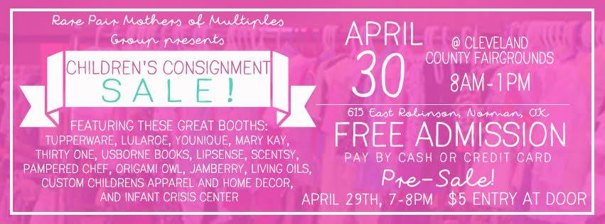 Rare Pair Consignment Sale April 29-30 Cleveland County Fair Grounds