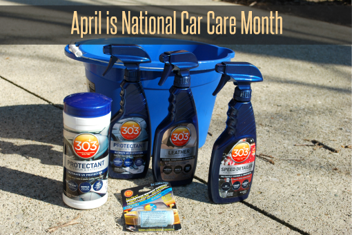April is National Car Care Month! Win a $50 Gift Card And 303 Care Care Products Courtesy of 303 Products!