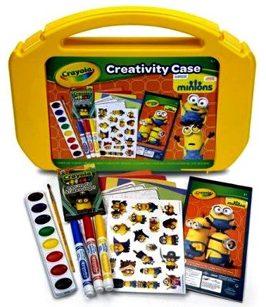 Crayola Minions Ultimate Art Case ONLY $6.48 (50% off!)