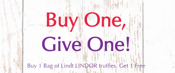 BOGO Free Lindor Truffles Coupon!