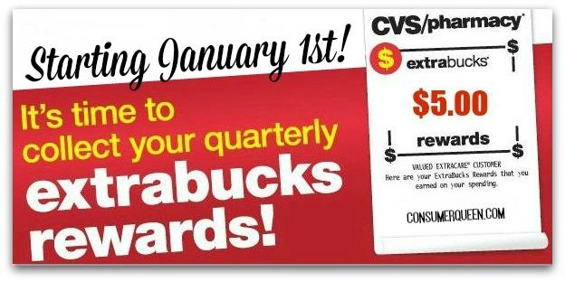 CVS Quarterly ExtraBucks Rewards Are Printing – Scan Those Cards!