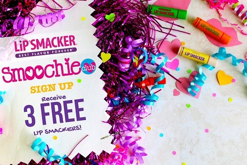 Join the Smoochie Club and Get 3 FREE Lip Smackers!