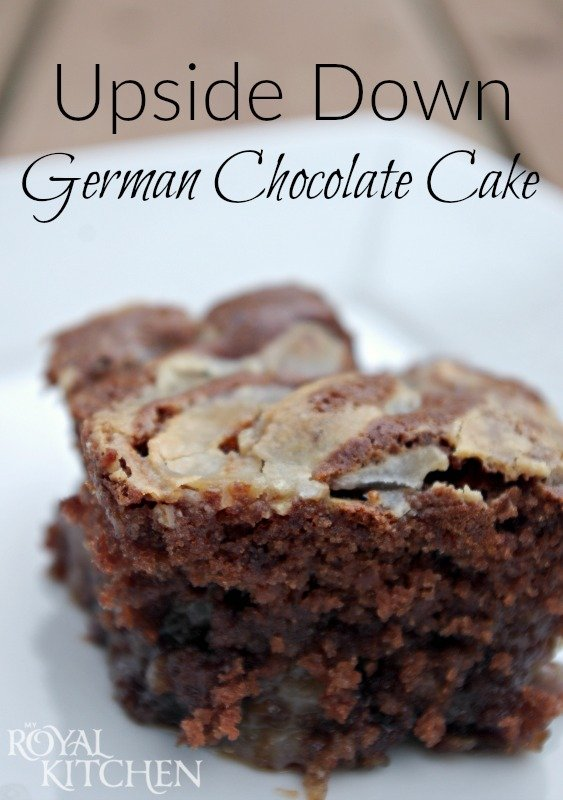 Upside Down German Chocolate Cake Consumerqueen Com