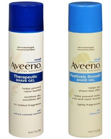Aveeno Shave Gel $1.21 Each (reg $4.99) at Walgreens