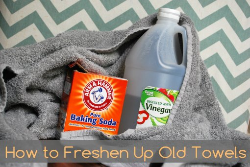 How to freshen up towels