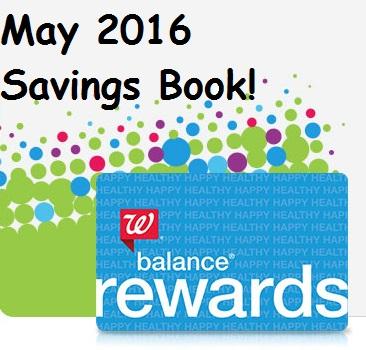 May 2016 Savings Book Coupons at Walgreens