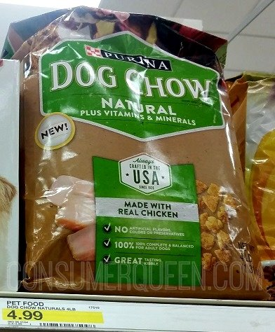 Purina Dog Chow Natural as Low as 99¢!
