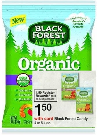 FREE Black Forest Gummies (+ profit) at Walgreens!
