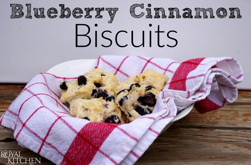 blueberry cinnamon biscuits