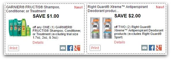 New Redplum Coupons: Garnier, Right Guard, Bertolli & More!