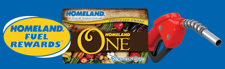 Homeland Fuel Rewards FAQ