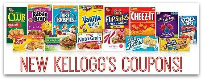 New Kellogg's Coupons!