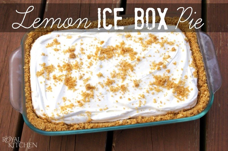 Homemade Traditional Lemon Ice Box Pie Recipe From Scratch