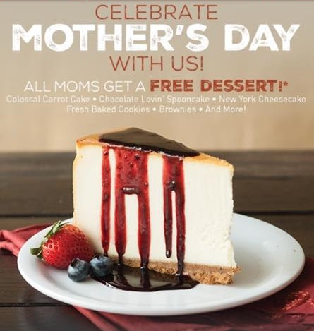 FREE Dessert for Mom at McAlister's Deli!