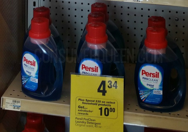 HOT Deals on Persil Laundry Detergent at CVS & Target!