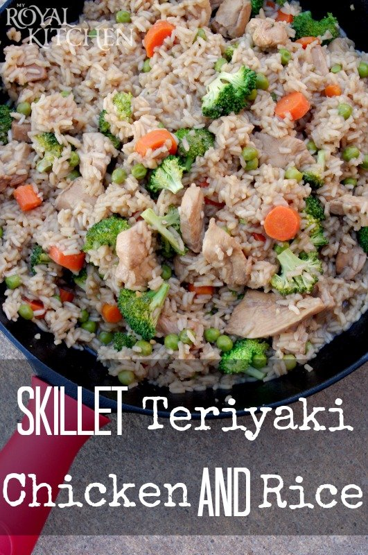 Skillet Teriyaki Chicken And Rice