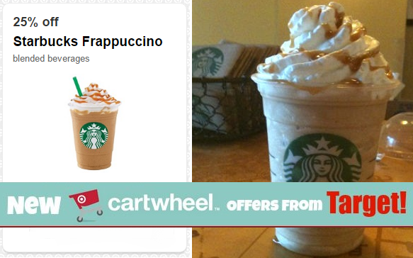 Starbuck's Frappuccino 25% Off at Target Cafe!