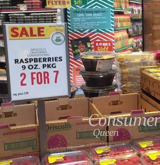 Organic Rasberries Whole Foods