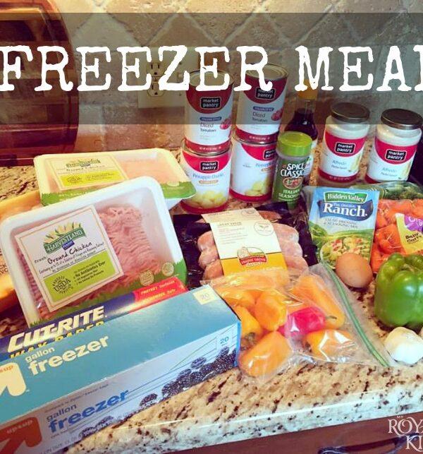 4 Freezer Meals