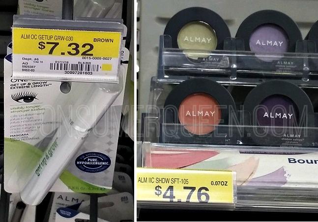 CHEAP Almay Mascara, Shadow & More at Walmart!