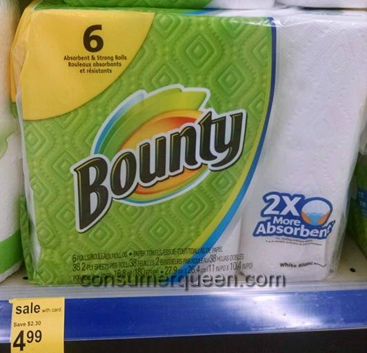 Bounty Paper Towels Cvs: Bounty And Charmin 32¢/16¢ Per Roll At Walgreens
