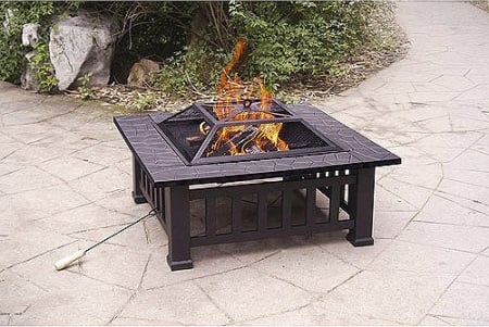 Alhambra Fire Pit with Cover $69.99 (Was $125) + FREE Ship!