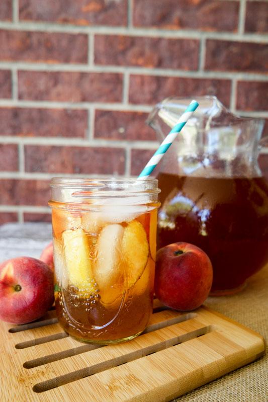 homemade peach tea with lipton consumerqueen com oklahoma s