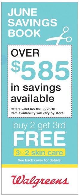 June Savings Book 2016 – Walgreens Coupons