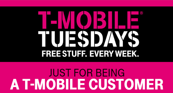 T-Moble Tuesday – Get Today's Freebies!