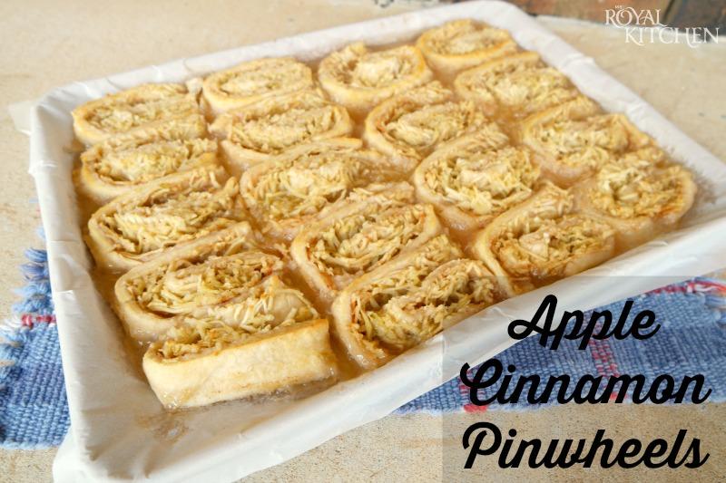 Apple Cinnamon Pinwheels
