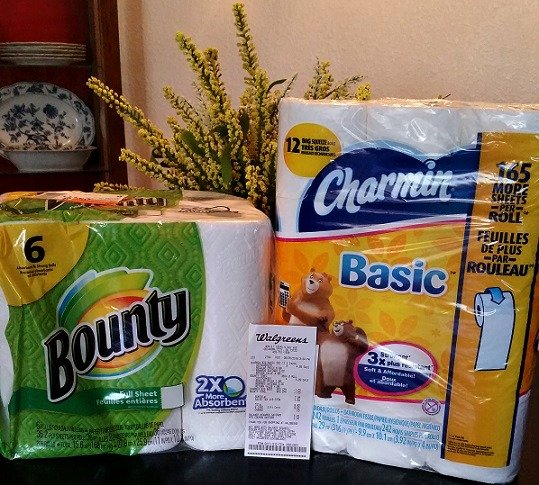 Bounty Paper Towels Cvs: My Bounty & Charmin Score At Walgreens!- ConsumerQueen.com