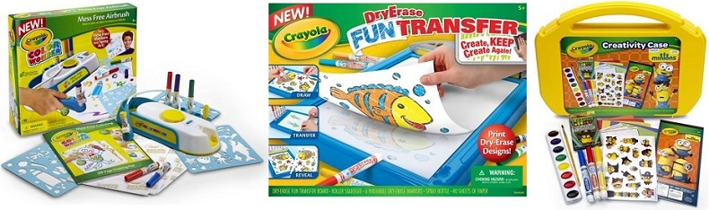 Crayola Kits on Clearance – $5 at Walmart + 50¢ Crayons!