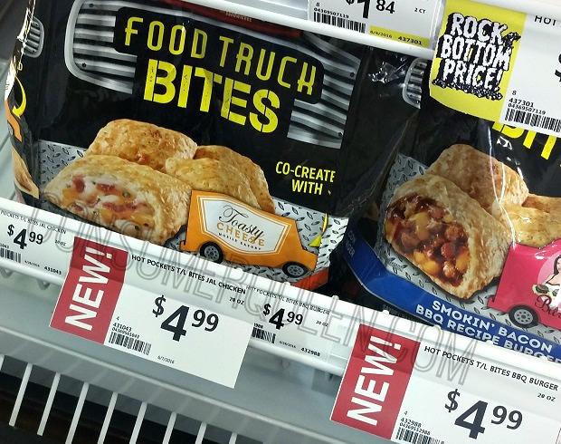Hot Pockets Food Truck Bites $1.49 at Crest Foods!