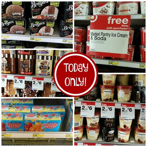 CHEAP Ice Cream at Target – Today ONLY!