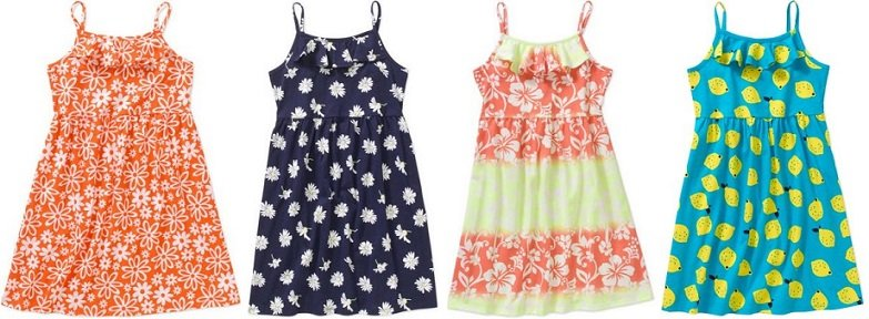 Girl's Summer Dresses $4 at Walmart – FREE Store Pick-up!