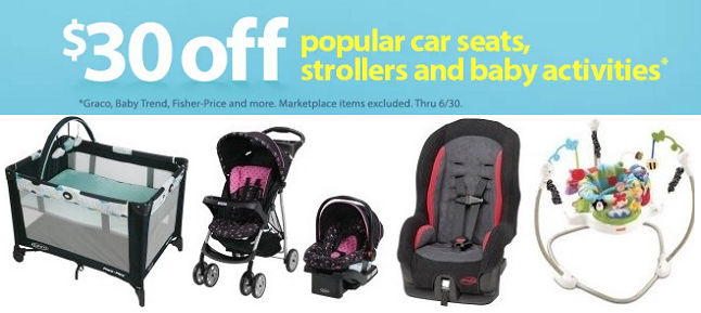 Car Seats, Strollers & More 30% off + FREE Shipping!