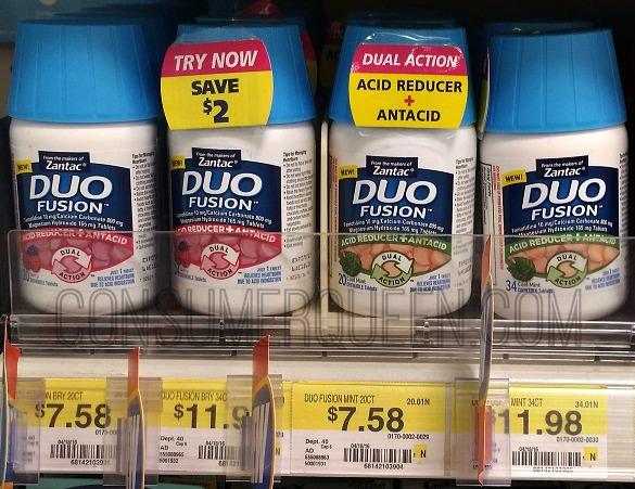 $6 Zantac Duo Fusion Coupon – ONLY $1.58 at Walmart!