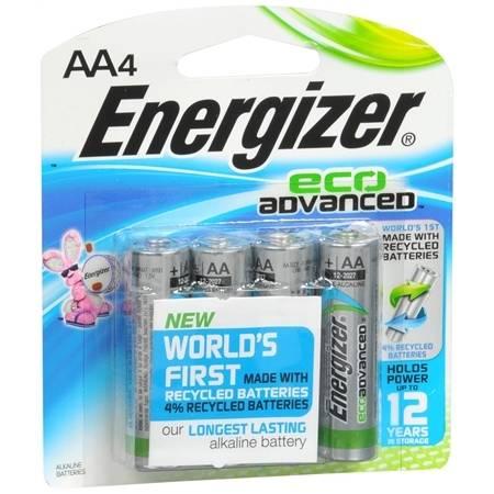 Energizer EcoAdvanced Batteries