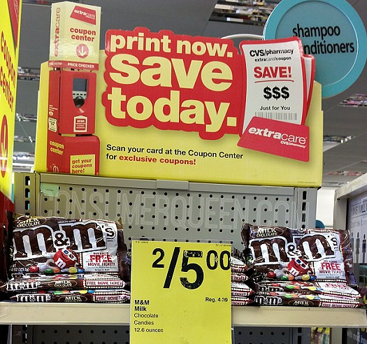 M&M as Low as $1.00 at CVS + FREE Movie Ticket Deal!