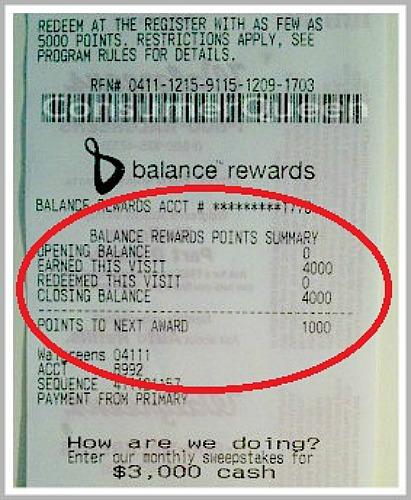 balance rewards receipt