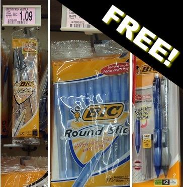 FREE Bic Pens at Homeland!