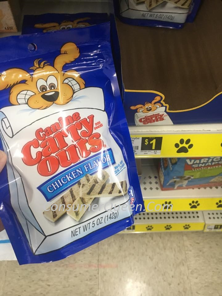Canine Carry Outs 50¢ at Dollar General!