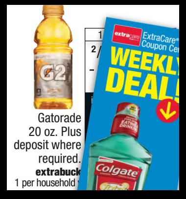 FREE Gatorade & Colgate at CVS Next Week!