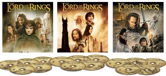 Lord of the Rings Trilogy ONLY $29.99 (reg. $75.08) on Blu-Ray!