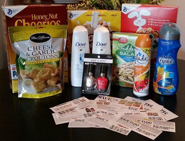 Win a Mini Shopping Haul and Coupons!