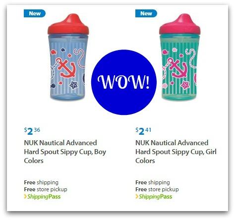 Walmart: Nuk Cups Under 50¢!!